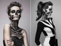 Бьюти-образ на Halloween