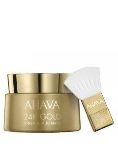 24К Gold Mineral Mud Mask Ахава - Маска для лица на основе золота