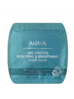 Age Control Even Tone & Brightening Sheet Mask Ахава - Освеляющая омолаживающая тканевая маска