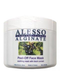 Alginate Peel-Off Soothing Mask With Black Currant Алессо - Маска альгинатная  c черной смородиной успокаивающая