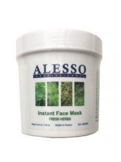 """Instant Face Mask Fresh Herbs Алессо - Маска растворимая """"Свежие травы"""" противовоспалительная"""