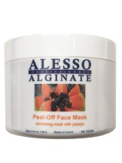 Alginate Exfoliating Peel-Off Face Mask With Papaya Алессо - Альгинатная очищающая маска с Папайей