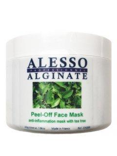 Alginate Peel-Off Face Mask Anti-Inflammation With Tea Tree Алессо - Альгинатная противовоспалительная маска с маслом чайного дерева