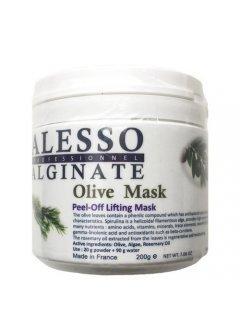 Alginate Olive Peel-Off Lifting Mask Алессо - Альгинатная лифтинговая маска с экстрактом листьев оливы