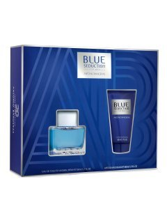 Antonio Banderas Blue Seduction for Men (edt/50ml + a/sh/balm/50ml) - Набор