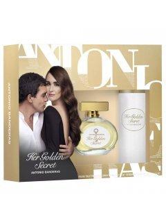 Antonio Banderas Her Golden Secret (edt 80ml + b/lot 100ml) - Набор