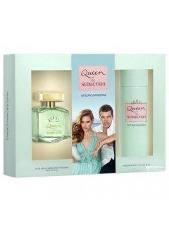 Antonio Banderas Queen of Seduction edt 50ml + b/l 50ml - Набор