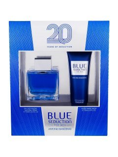 Antonio Banderas Blue Seduction edt 100ml + asb 75ml - Набор