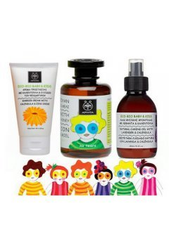 Babies & Kids Care Set - Набор по уходу за кожей и волосами малышей