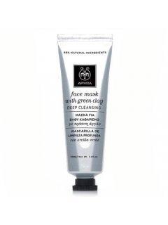 """Cleansing Mask Green Clay & Propolis Клинсинг - Маска для лица с зеленой глиной """"Глубокая чистка"""""""