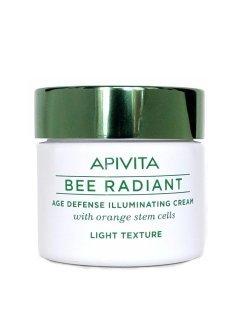 Bee Radiant Light Texture Апивита Би Радиант - Легкий крем для сияния кожи со стволовыми клетками