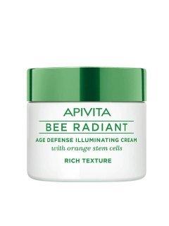Bee Radiant Rich Texture Апивита Би Радиант - Насыщеный крем для сияния кожи со стволовыми клетками