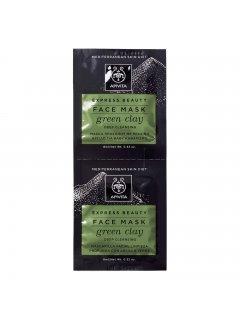 Express Mask Green Clay Апивита - Маска глубокого очищения с зеленой глиной