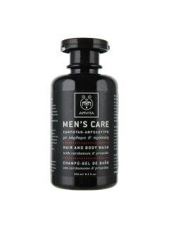 Men's Care Body & Hair Wash Боди Хеа Вош - Шампунь для волос и тела с кардамоном и прополисом