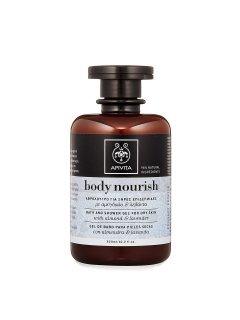 Body Care Nourish Shower Gel with Almond & Lavender Апивита Миндаль и Лаванда - Гель для душа для сухой кожи
