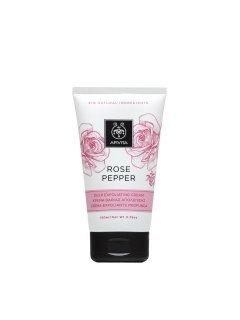 Rose & Pepper Exfoliating Cream Апивита - Интенсивный отшелушивающий крем