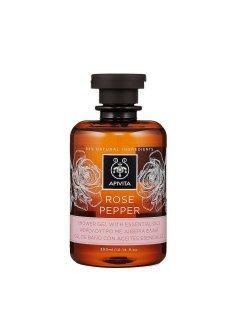 Rose & Pepper Shower Gel Апивита - Гель для душа с эфирными маслами