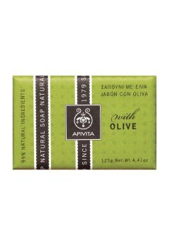 Natural Soap Olive Апивита - Натуральное мыло с маслом оливок