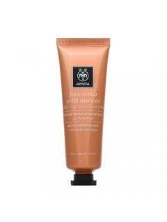 """Gentle Exfoliating Face Scrub with Apricot Апивита - Скраб для очищения лица """"Деликатное отшелушивание"""" с абрикосом"""