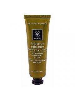 "Gentle Exfoliating Face Scrub with Olive Апивита - Скраб для лица ""Интенсивное отшелушивание"" с оливой"