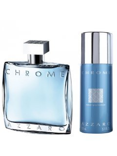 Chrome set Аззаро Хром - Мужской подарочный набор