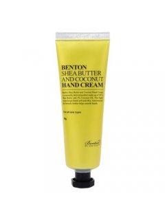 Benton Shea Butter and Coconut Hand Cream - Крем для рук с маслом ши и кокосом