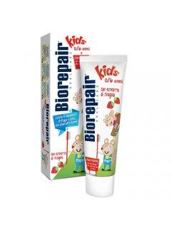 """Junior Strawberry Биорипэйр - Детская зубная паста """"Веселый мышонок"""""""