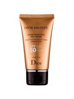 Bronze Beautifying Protective Creme Sublime Glow SPF 50 Диор Бронз - Крем для тела солнцезащитный