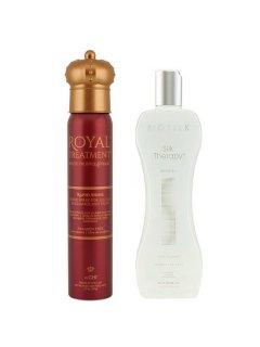 BioSilk Silk Therapy & Royal Treatment Set CHI - Набор для блеска и красоты волос