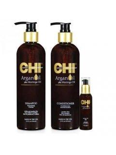 Argan Oil Set Чи - Набор для восстановления волос