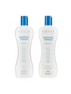 Biosilk Hydrating Therapy set Чи - Набор для увлажнения волос