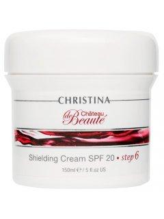 Chateau de Beaute Shielding Cream SPF 20 Кристина Шато де Боте - Защитный крем SPF 20 (шаг 6)