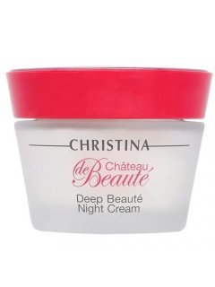 Chateau de Beaute Deep Beaute Night Cream Кристина Шато де Боте - Интенсивный обновляющий ночной крем