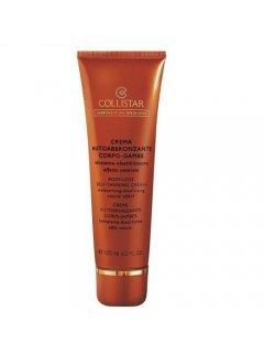 Collistar Crema Autoabbronzante Corpo Gambe - Тонирующий крем автозагар для тела и ног