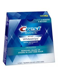"3D White Whitestrips No Slip Dental Whitening Kit 1hr EXPRESS Крест - Отбеливающие полоски ""Мгновенный результат"""
