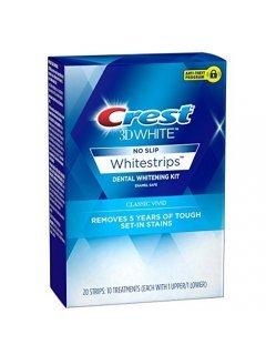 3D White Whitestrips Dental Whitening Classic Vivid Крест - Отбеливающие полоски для зубов