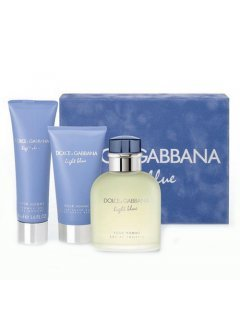 Light Blue Pour Homme Gift Set Дольче Габанна Лайт Блу Пур Ом - Мужской подарочный набор