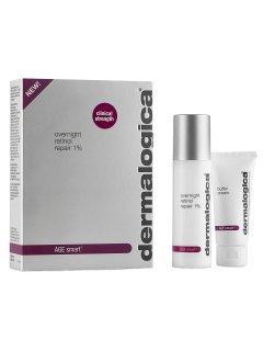 Dermalogica Age Smart Overnight Retinol Repair - Набор ночной крем с ретинолом 1%