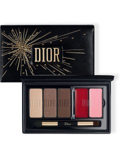 Dior Sparkling Couture Palette Satin Eyes & Lips Essentials - Подарочный набор