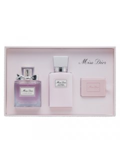 Christian Dior Miss Dior Blooming Bouquet EdT, Body Milk, Soap - Набор туалетная вода, молочко для тела, мыло