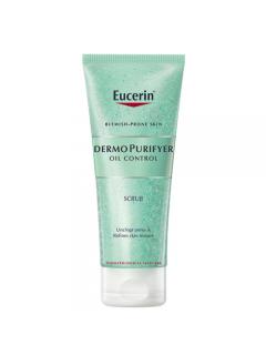 DermoPurifyer Scrub Эуцерин - Скраб для умывания для проблемной кожи