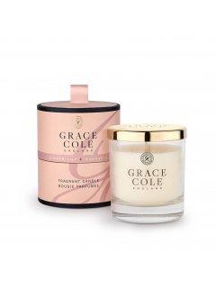 Grace Cole Boutique Ginger Lily & Mandarin Fragrant Candle - Ароматизированная свеча
