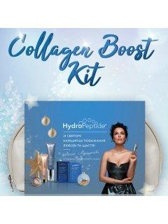 Hydropeptide Collagen Boost Kit - Набор естественного anti-age на уровне ДНК, для быстрого получения здорового и сияющего лица