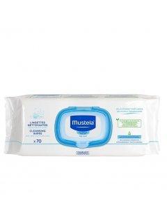 Bebe Extra Thick Wipes Мустела - Влажные салфетки для тела