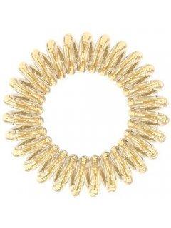 Invisibobble Power Golden Adventure - Резинка для волос нежно-золотого оттенка с сильной фиксацией