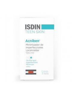 Isdin Teen Skin Acniben - Влажные салфетки