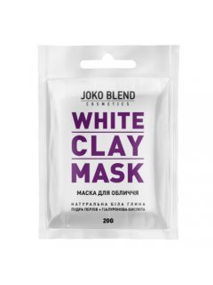 White Clay Mask Йоко Бленд Вайт Клей Маск - Белая глиняная маска для лица, 20 г