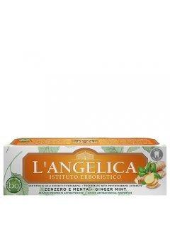 """Ginger & Mint Лангелика - Зубная паста """"Имбирь и мята"""""""