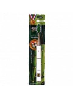 """LG Bamboosalt Soft Toothbrush - Зубная щетка """"Бамбуковая соль"""" с двухуровневой мягкой щетиной"""