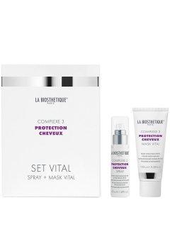 La Biosthetique Protection Cheveux Set Vital Complexe 3 - Набор для домашнего ухода